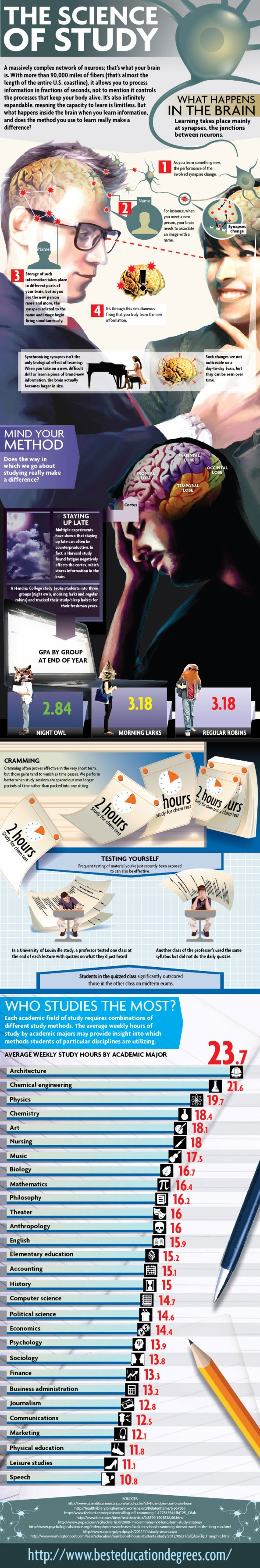 Infographic: The Science of Study